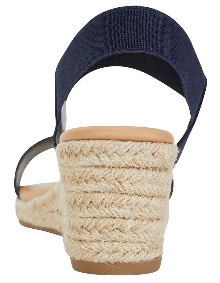 Sail Navy Elastic Sandal image 7