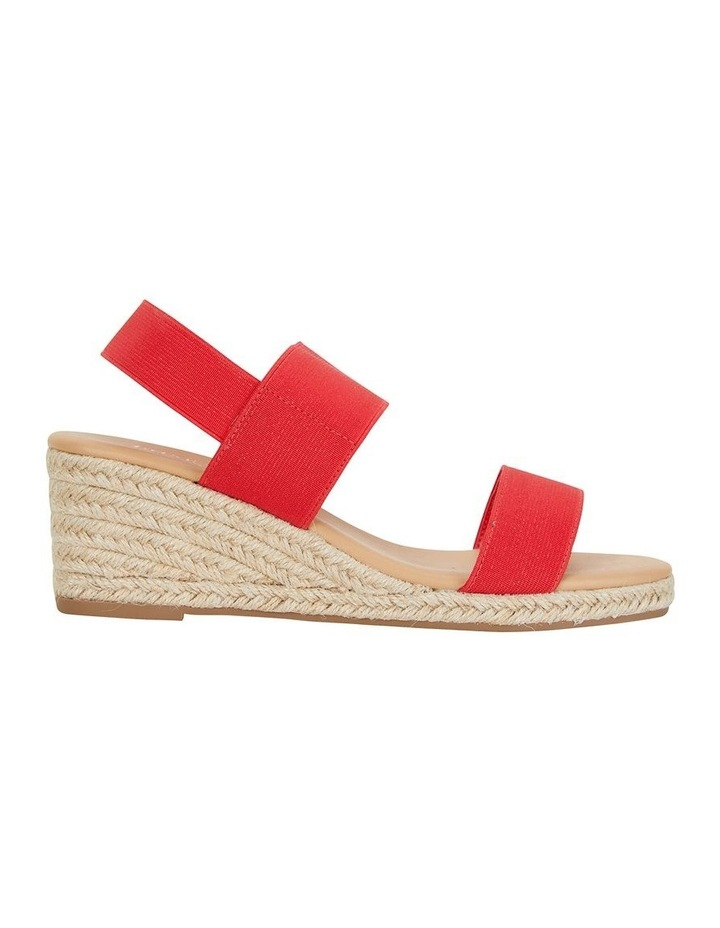 Sail Red Elastic Sandal image 1