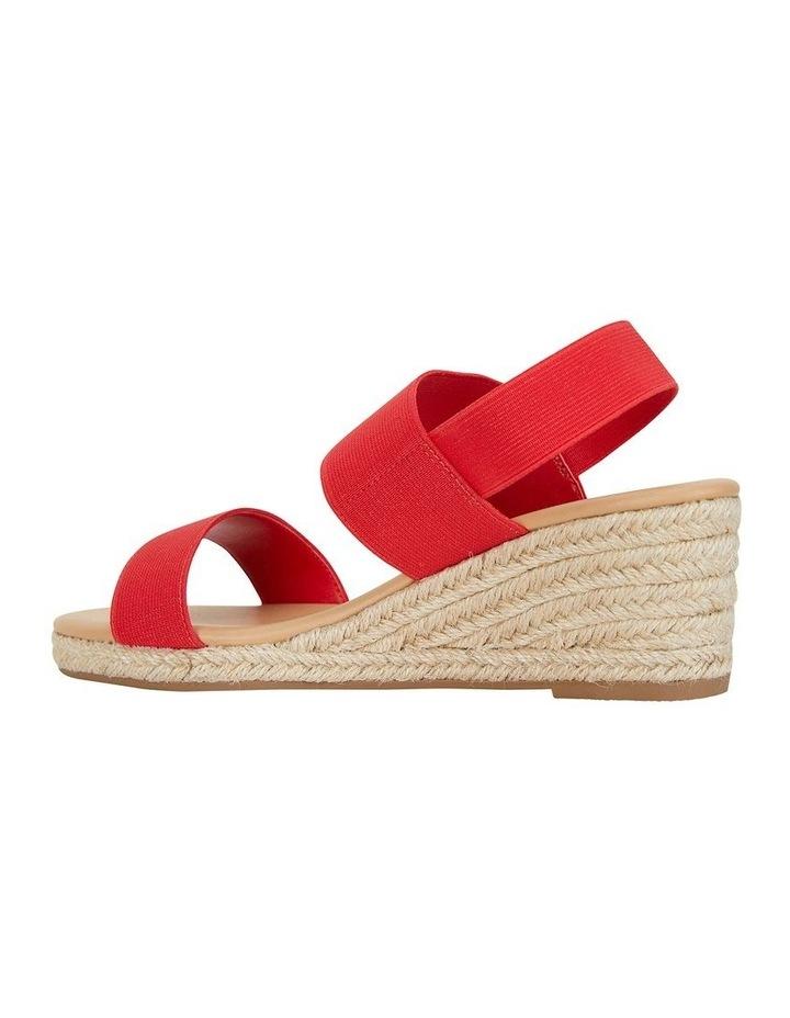 Sail Red Elastic Sandal image 4