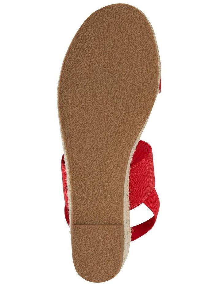 Sail Red Elastic Sandal image 6