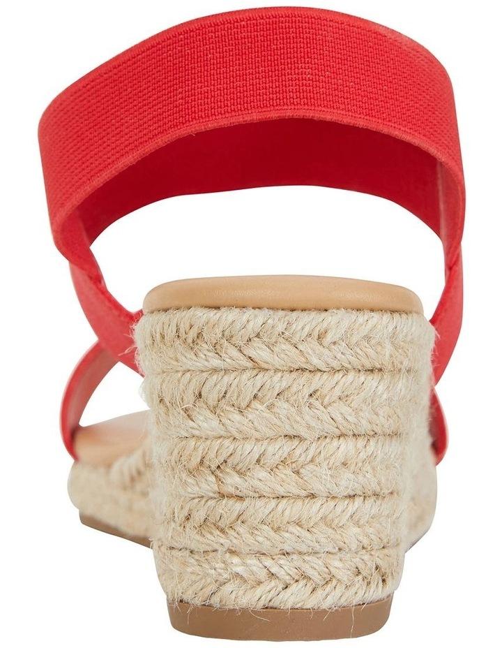 Sail Red Elastic Sandal image 7