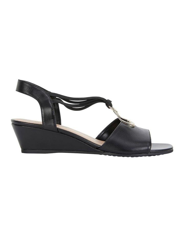 Carey Black Glove Sandal image 1