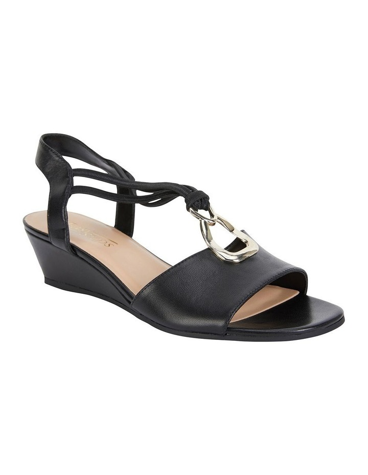 Carey Black Glove Sandal image 2
