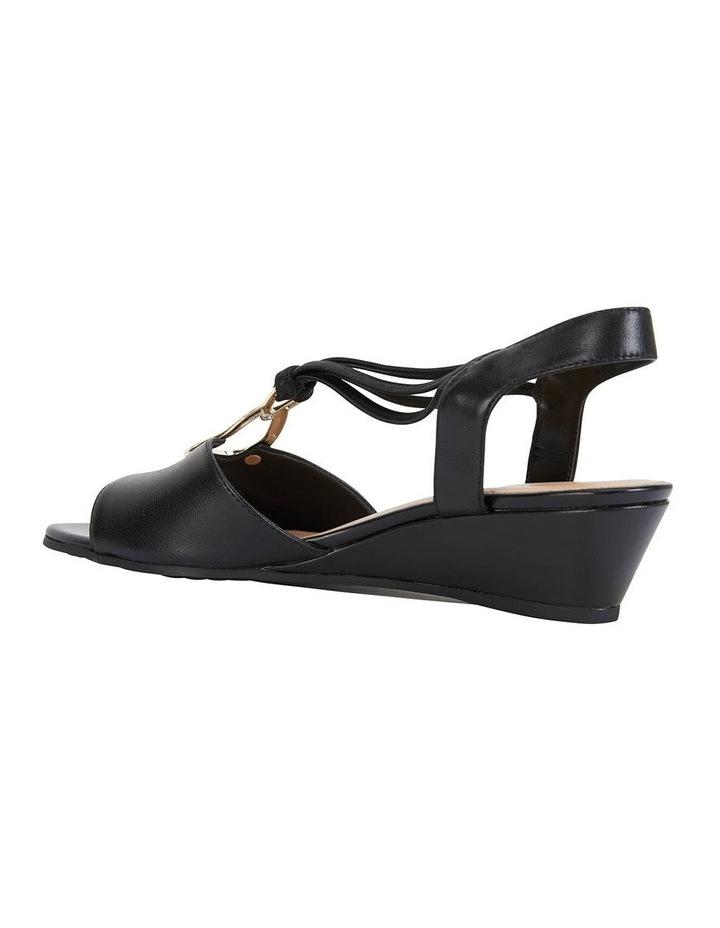 Carey Black Glove Sandal image 3