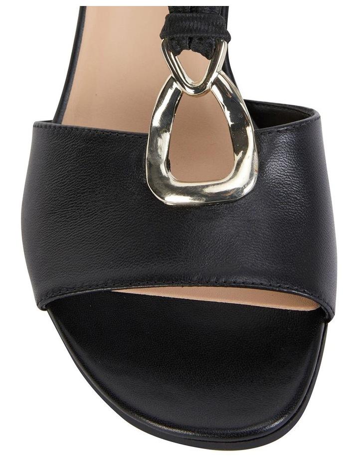 Carey Black Glove Sandal image 5
