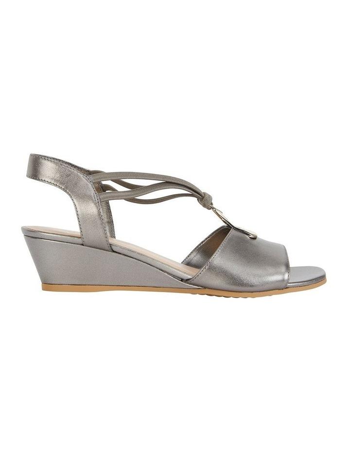 Carey Pewter Metallic Sandal image 1