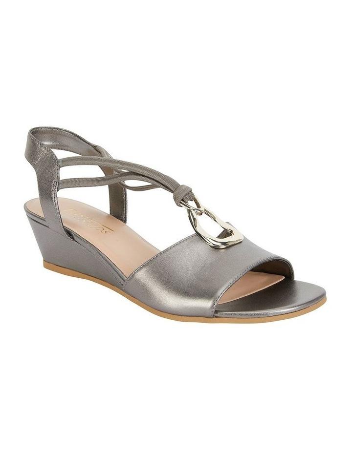 Carey Pewter Metallic Sandal image 2