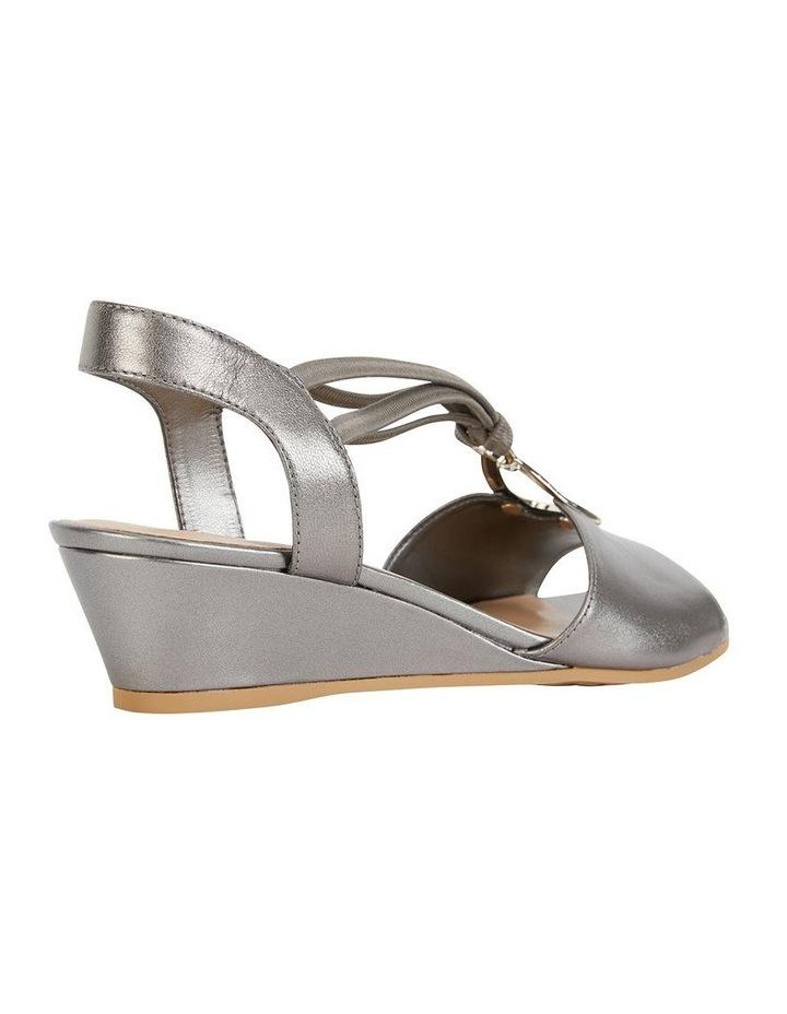 Carey Pewter Metallic Sandal image 3
