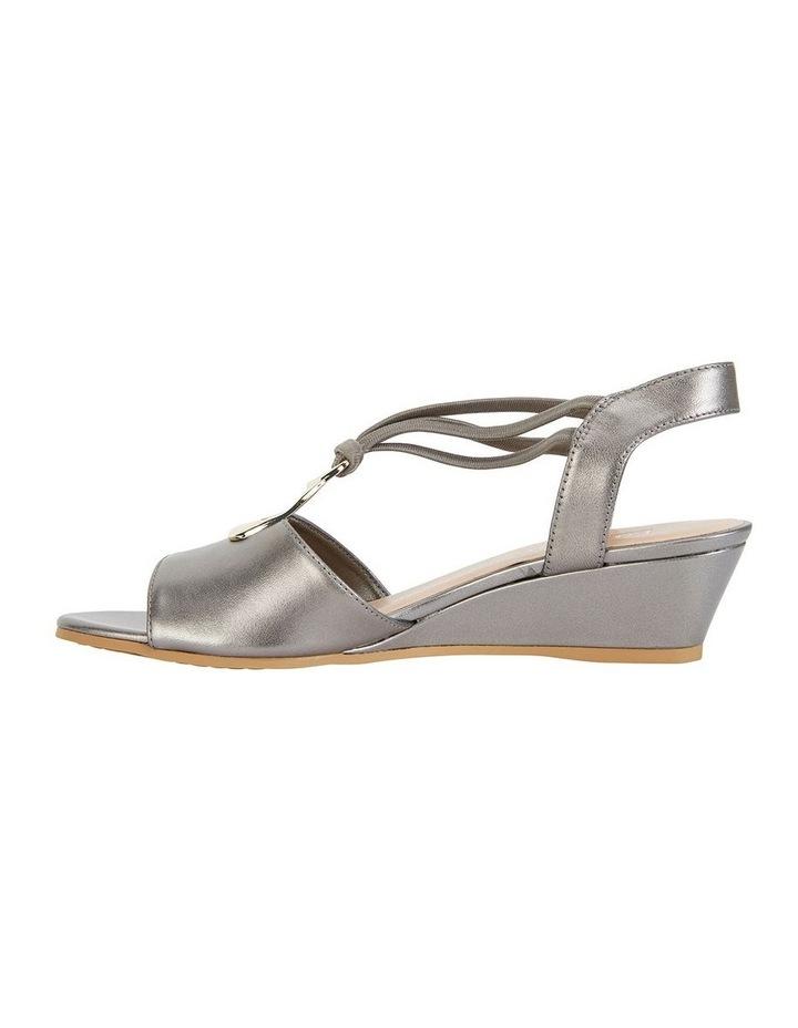 Carey Pewter Metallic Sandal image 4