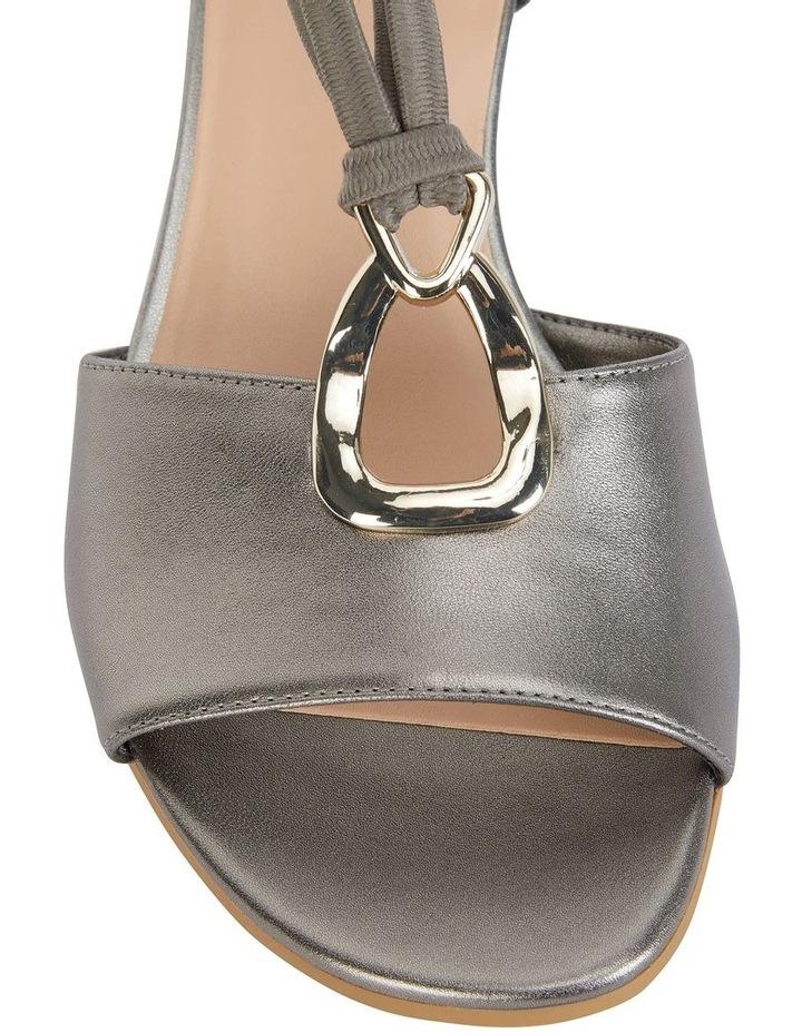 Carey Pewter Metallic Sandal image 6