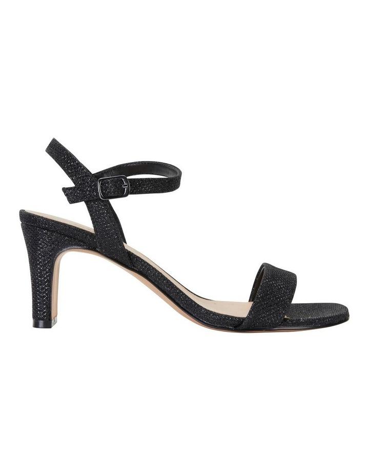 Unison Black Shimmer Sandal image 1
