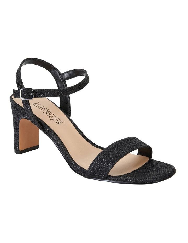 Unison Black Shimmer Sandal image 2