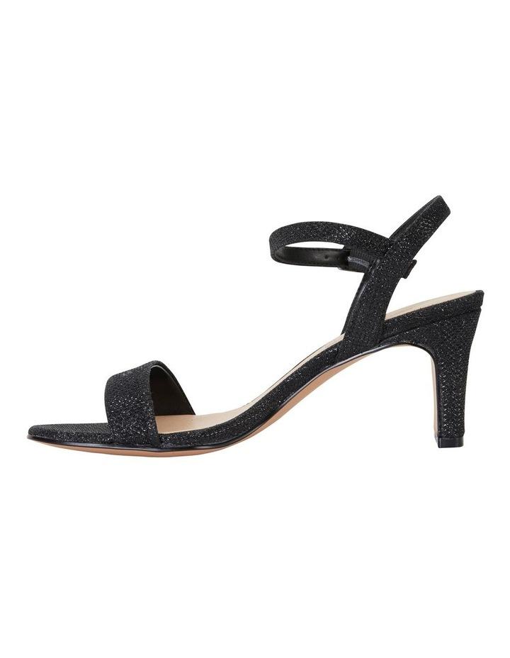 Unison Black Shimmer Sandal image 3