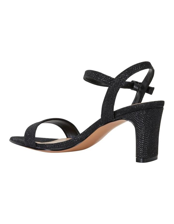 Unison Black Shimmer Sandal image 4