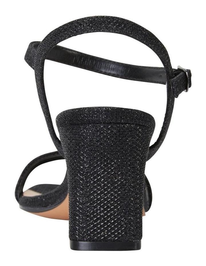 Unison Black Shimmer Sandal image 7