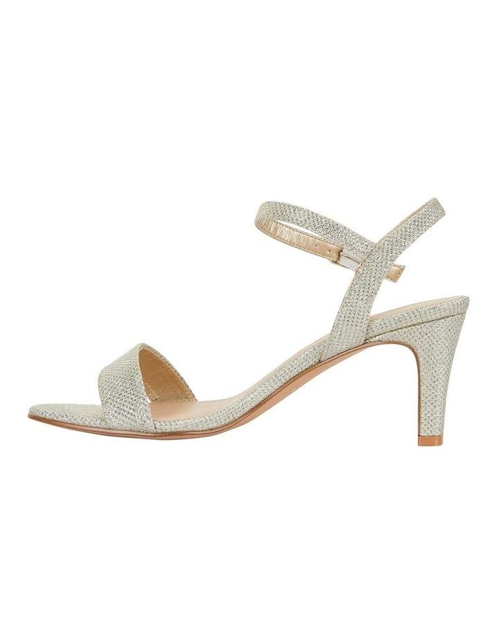 Unison Soft Gold Shimmer Sandal image 3