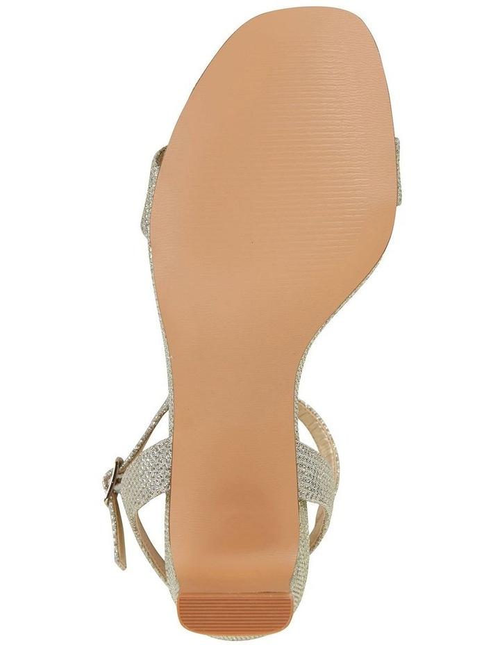 Unison Soft Gold Shimmer Sandal image 6