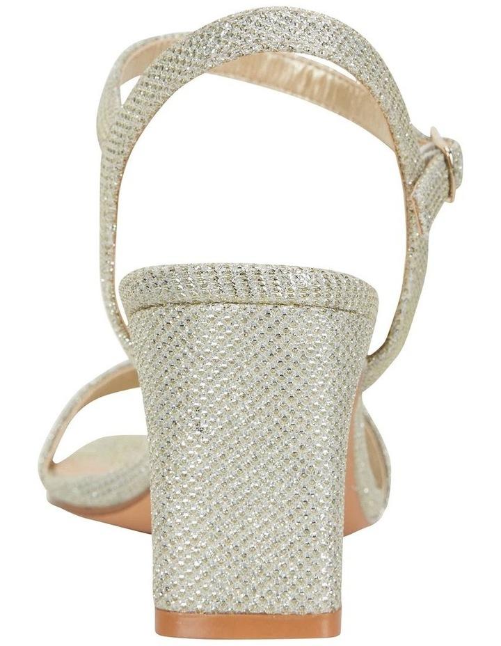 Unison Soft Gold Shimmer Sandal image 7