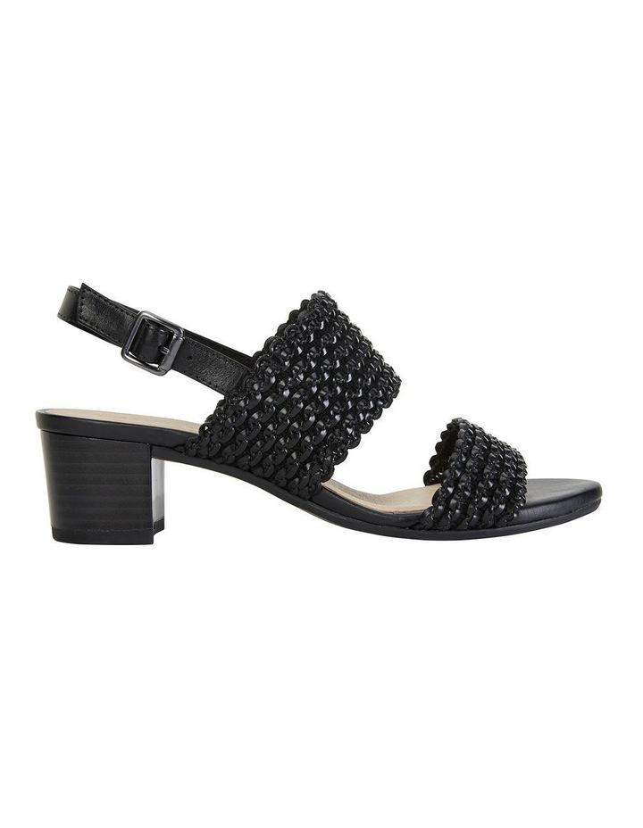 Vintage Black Weave Sandal image 1