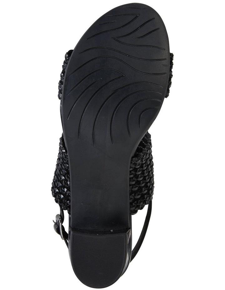 Vintage Black Weave Sandal image 5