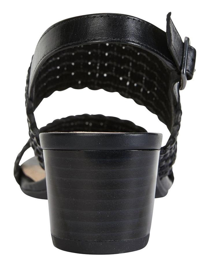 Vintage Black Weave Sandal image 6