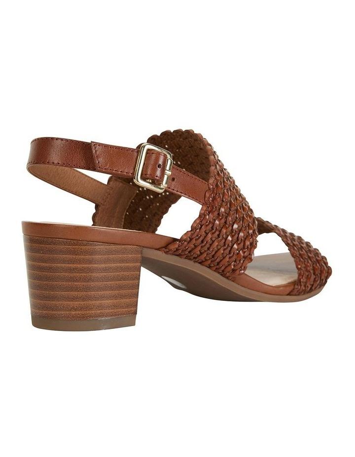 Vintage Cognac Weave Sandal image 3