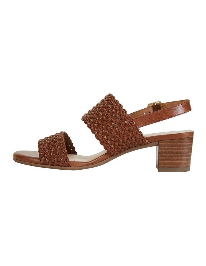 Vintage Cognac Weave Sandal image 4