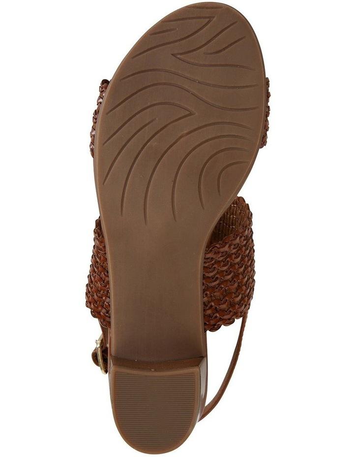 Vintage Cognac Weave Sandal image 5