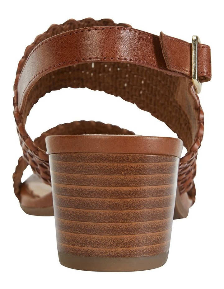 Vintage Cognac Weave Sandal image 6