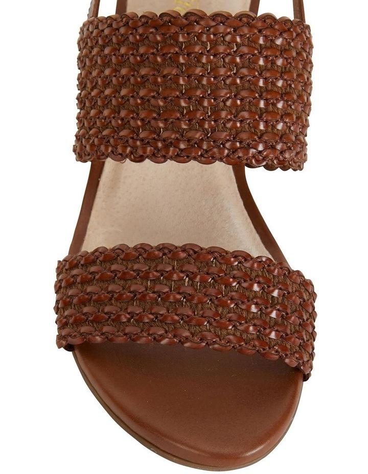Vintage Cognac Weave Sandal image 7