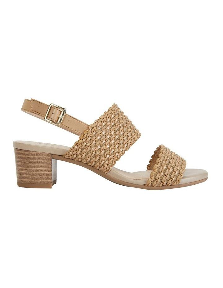 Vintage Neutral Weave Sandal image 1