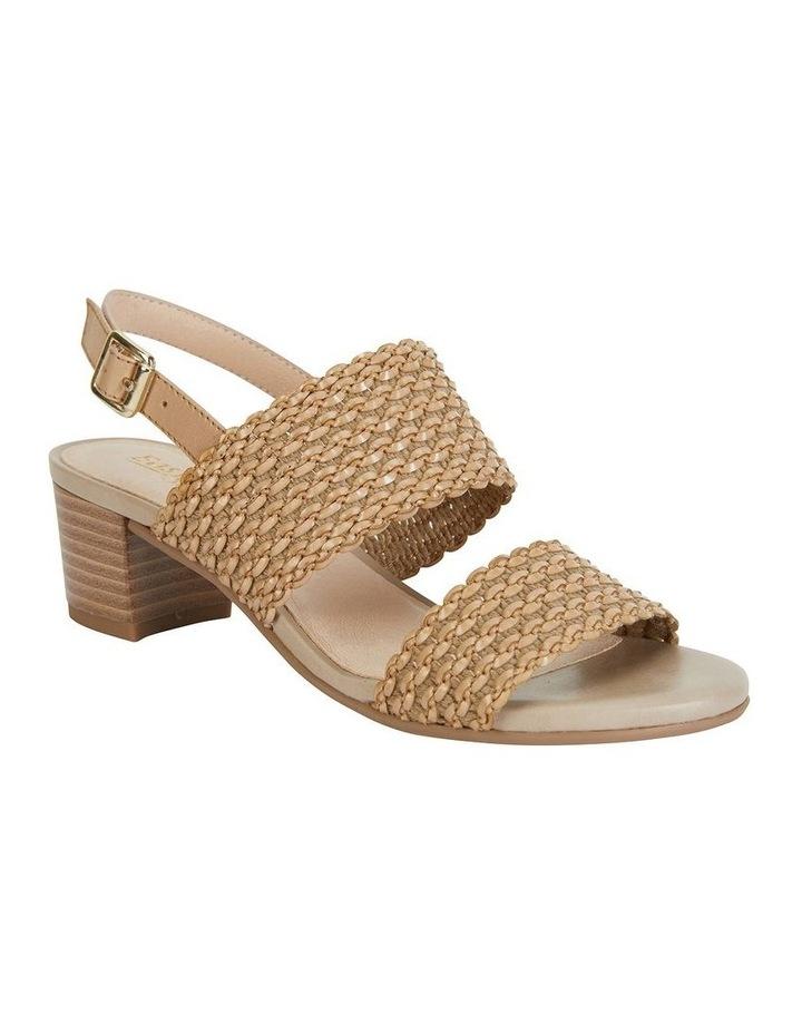 Vintage Neutral Weave Sandal image 2