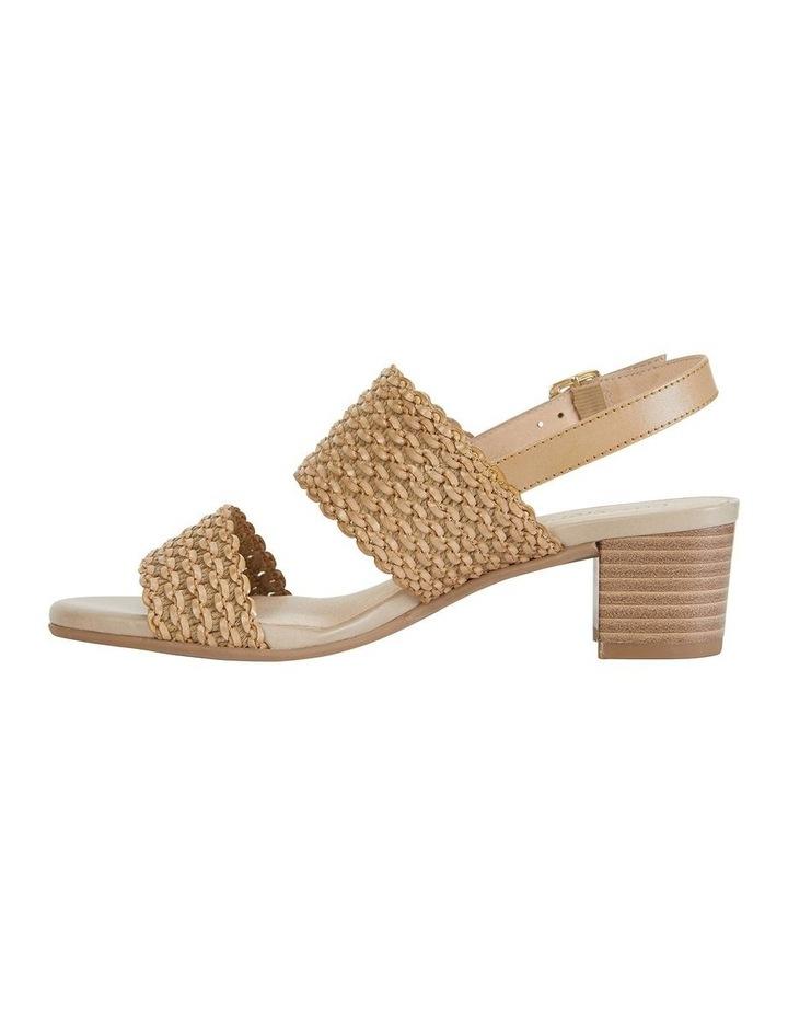Vintage Neutral Weave Sandal image 3