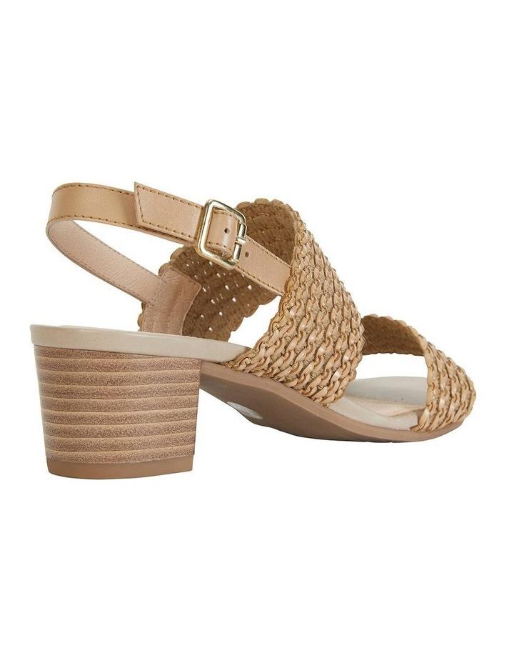 Vintage Neutral Weave Sandal image 4