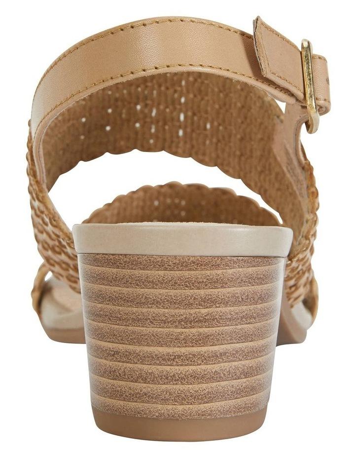 Vintage Neutral Weave Sandal image 5