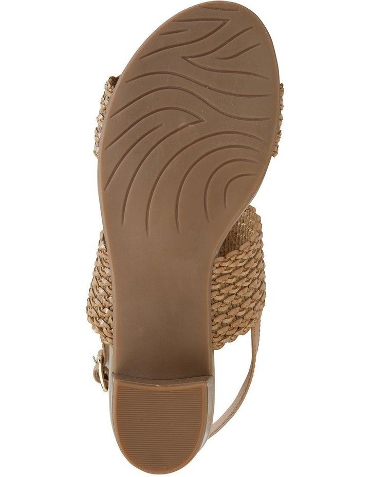 Vintage Neutral Weave Sandal image 6
