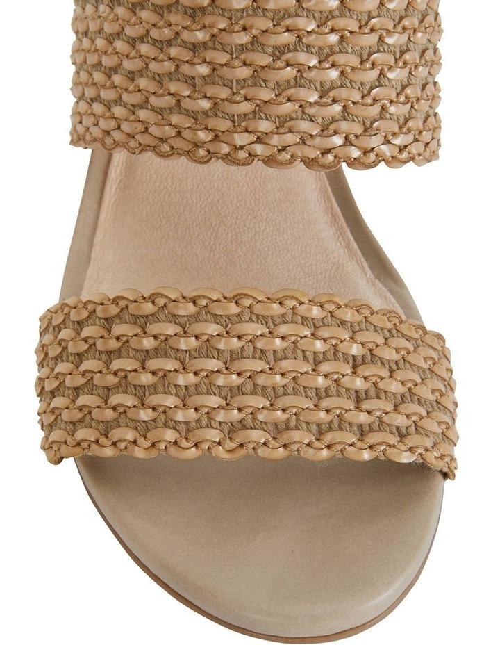 Vintage Neutral Weave Sandal image 7