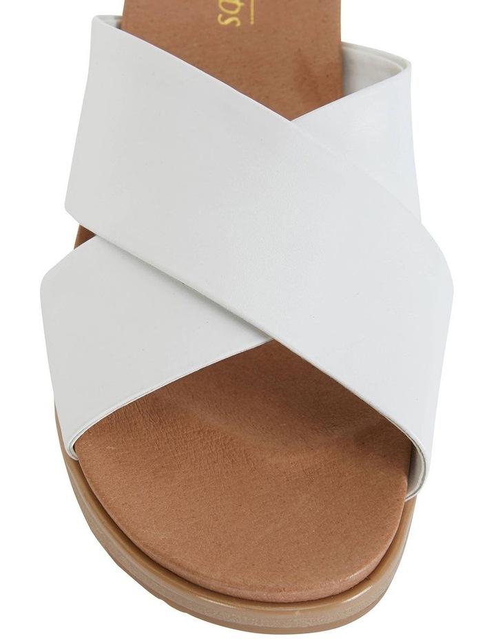 Bold White Glove Sandal image 7