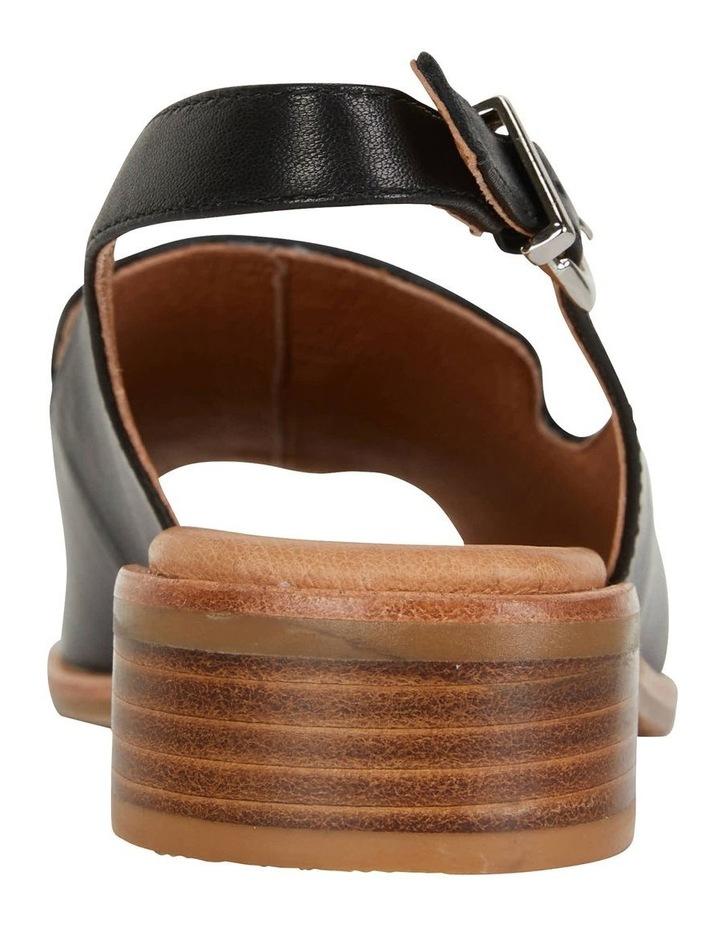 Delaney Black Glove Sandal image 7