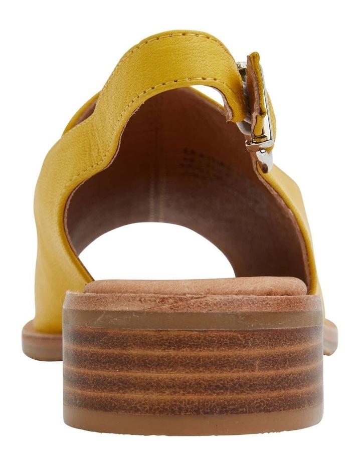 Delaney Mustard Glove Sandal image 6