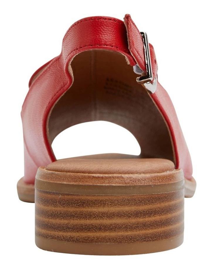 Delaney Red Glove Sandal image 6