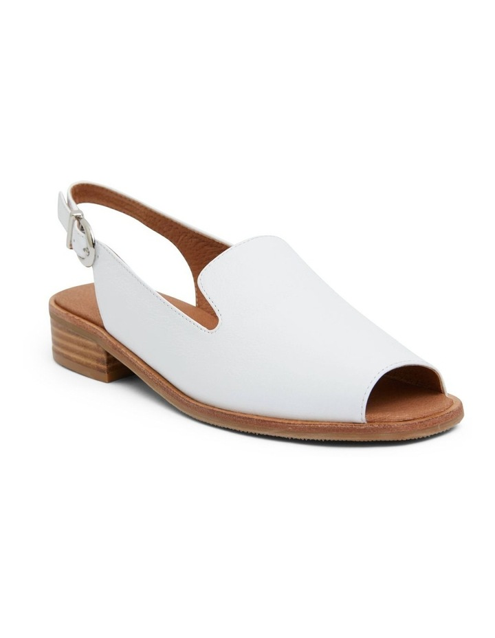 Delaney White Glove Sandal image 2