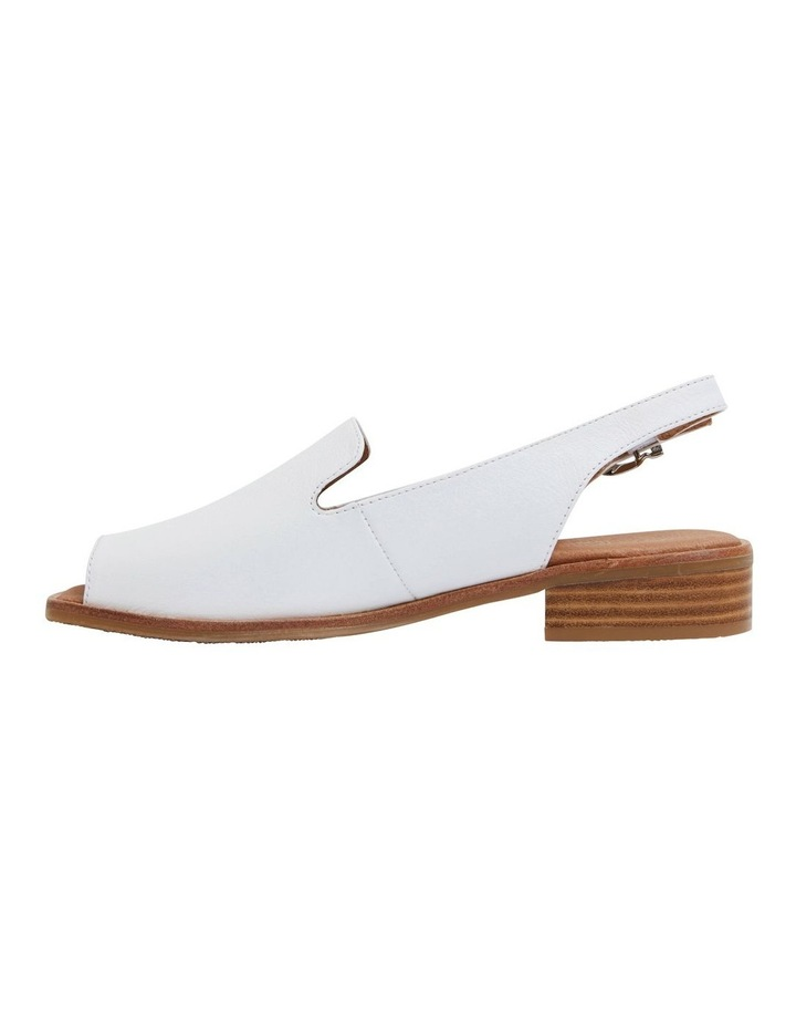 Delaney White Glove Sandal image 3