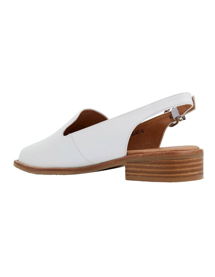 Delaney White Glove Sandal image 4