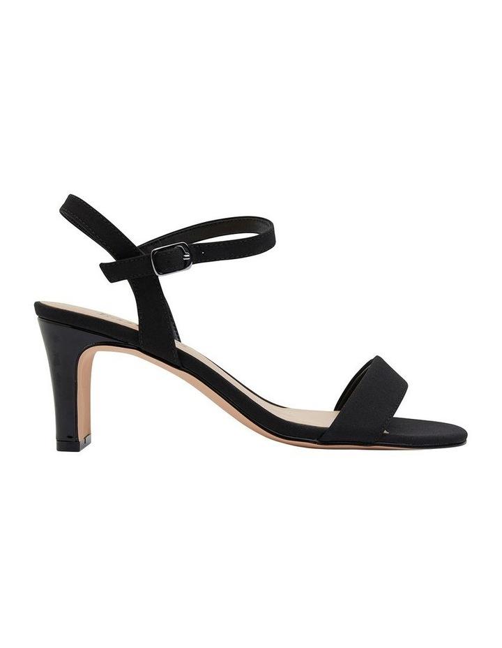 Unison Black Fabric Sandal image 1