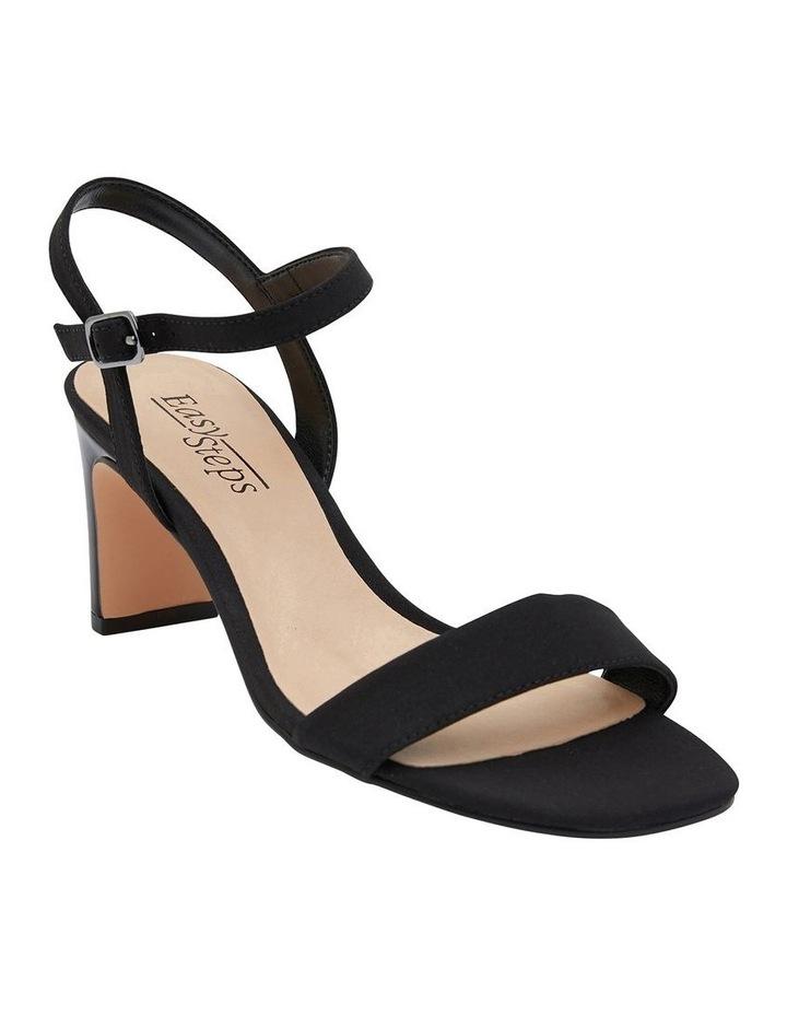 Unison Black Fabric Sandal image 2