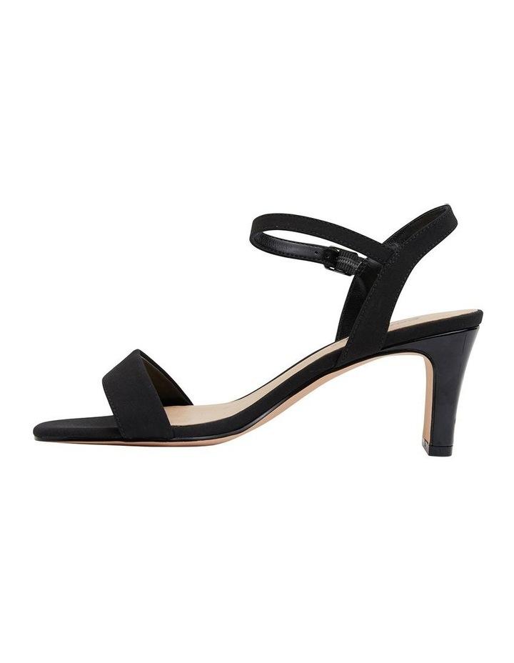 Unison Black Fabric Sandal image 3