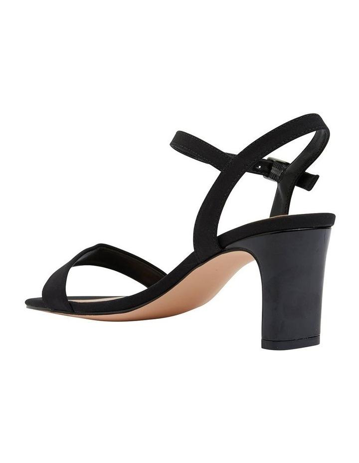 Unison Black Fabric Sandal image 4