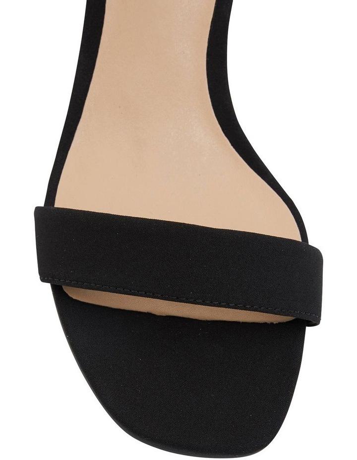 Unison Black Fabric Sandal image 5