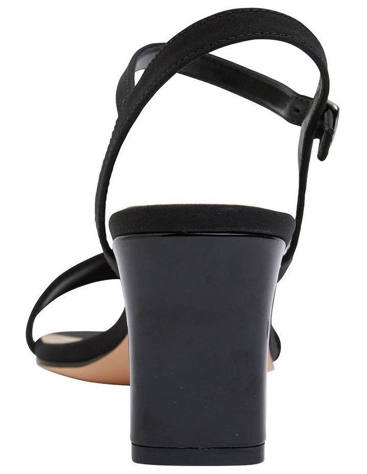 Unison Black Fabric Sandal image 6